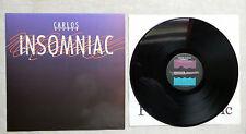 "DISQUE VINYLE 33T LP MUSIQUE/ CARLOS ALOMAR ""INSOMNIAC"" 1987 PRIVATE MUSIC US"