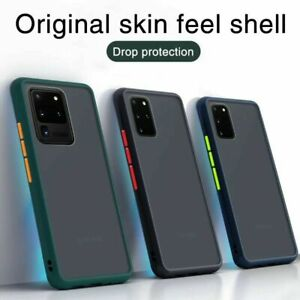 Shockproof Soft Liquid Silicone Case Cover For Samsung S21 5G S20 S10 S9 A71 A51