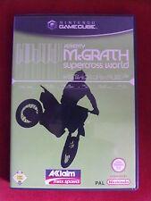 Nintendo GameCube juego Jeremy McGrath supercross World