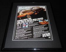 1979 Datsun 200 SX 11x14 Framed ORIGINAL Vintage Advertisement