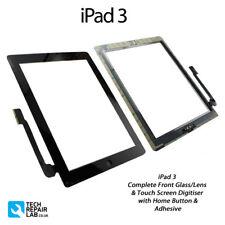 NUOVO IPAD 3 COMPLETO VETRO FRONTALE / Digitalizzatore Touch screen pannello