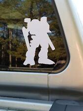 Battletech Robotech car window bumper sticker