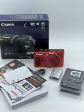 New Canon PowerShot SX620 20.2MP HS (Red) Built-In Wi-Fi Digital Camera
