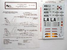 "F-15E EAGLE ""2USAF/WING CMDR/LUKE AFB"" REPLISCALE DECALS 1/32"