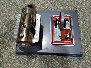 Vintage Wilesco Model Steam Engine Good condition