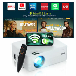 WiFi LED Video Projector 4K Android Bluetooth Smart Projector 1080P Home Cinema
