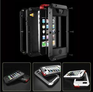 Heavy Duty Gorilla Metal Case Shockproof iPhone 13 11 12 Pro Max 6 7 8 XR PLUS