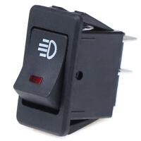 12V 35A Universal Car Red LED Fog Light Rocker Switch Dash Dashboard 4 Kn