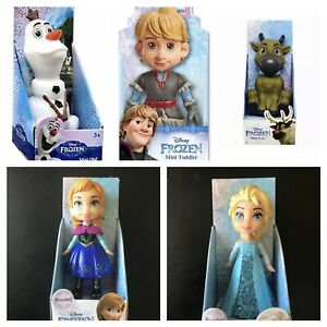 Disney Princess Frozen Mini Toddler Doll Princess Elsa Anna Sven Olaf Kristoff 3