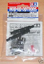 TAMIYA 54634 TT-02 Type-S Acier Suspension Mount Set (TT02 Type-S Drift), Neuf sous emballage