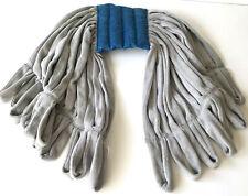 UNGER Microfiber String Wet Mop - ST30 - Smart Color Rough Mop - Gray Blue