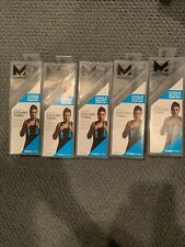 5pk Mission Premium Cooling Towel 10�x33� Water Activated Charcoal Grey Space