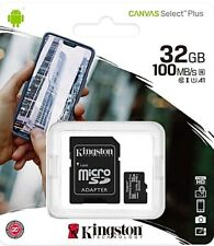 Kingston 32GB micro SD Karte SDHC Class 10 UHS-I 100MB/s Speicherkarte
