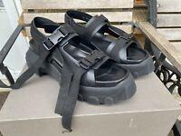 Rick Owens Tractor Sole Sandals IT EU44