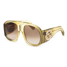 Gucci Women's Novelty GG0152S-003 Women's 57mm Brown Lens Sunglasses