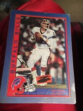 Jim Kelly Postcard Puzzle, Buffalo Bills, VINTAGE