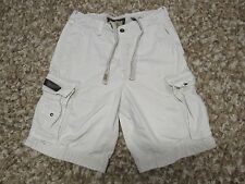 MENS BEIGE RUEHL No 925 KHAKI CARGO SHORTS sz 30 sold by abercrombie & fitch