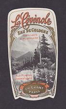 Ancienne étiquette  BN15469 Eau de cologne Le Cévénole
