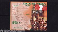 Perù - 1998 gli eroi-U/M-SG ms1954