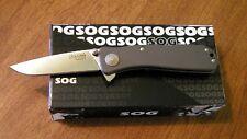 Couteau SOG Twitch II A/O Lame Acier AUS-8 Manche Alu 6061-T6 Made USA SOG99455