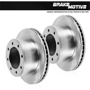 For 1999 2000 Ford F250 F350 2WD 2 Front Premium OE Brake Disc Rotors