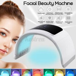 7 Colors LED Light Photon Facial Skin Rejuvenation Photon Therapy Beaut
