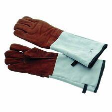 Leder Backhandschuhe Hitzeschutzhandschuhe Fingerlinge Ofenhandschuhe  bis 200 °