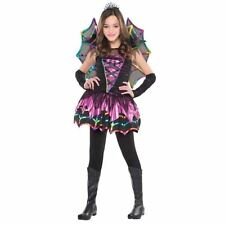 Childrens Girls Spider Fairy Halloween Costume Fancy Dress Outfit 4-6 Years