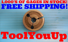 716 24 Uns 2a Thread Ring Gage 4375 Go Only Pd 4093 Inspection Machinist
