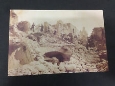 RIPRODUZIONE FOTO ALINARI TERREMOTO DI CASAMICCIOLA 12X18 1883 (1)