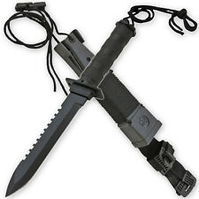 Ultimate Jungle Survival Dagger & Kit w/ Extra Skinning Knife Hunting Camping