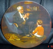 Knowles American Fine China THE TYCOON By Norman Rockwell