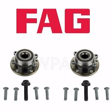 For Audi VW 2005-2015 Rear Left & Right Wheel Hub w/ Bearings FAG OEM