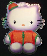 Large Hello Kitty **Kimono** Holographic Sticker Cute 6x7 inches