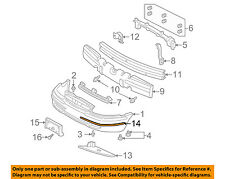 Buick GM OEM 97-03 Century-Bumper Trim-Molding 10269360