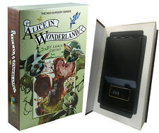 Real Paper Steel Book Booksafe Combination Lock Hidden Safe Alice In Wonderland!