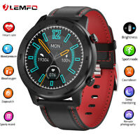 LEMFO DT78 Smart Watch waterproof blood pressure Heart Rate for Huawei iPhone