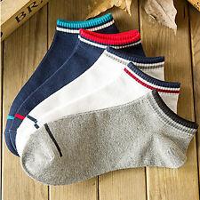 4 Colors Men Sports Socks Lot Crew Short Ankle Low Cut Casual Cotton Socks SET