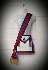 Masonic-Royal Arch-Provincial Lamb skin  Apron and sash set