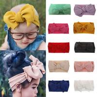 Kids Girls Baby Headband Toddler Bow Flower Hair Band Headwear Head Accessories