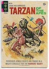 Tarzan of the Apes #205 (Gold Key, 1971) – Brothers of the Spear – VG