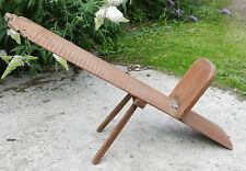 GRANDE Sedia in legno intagliati a mano/ARTISTA'S BOARD-Arts & Crafts design ergonomico