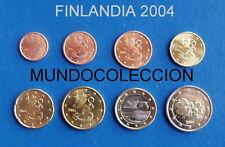EUROS FINLANDIA 2004 Serie completa SC - FINLAND SET