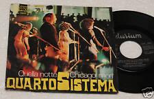 "QUARTO SISTEMA:7""-ORIGINAL ITALY PROGRESSIVE 1974 EX !!"
