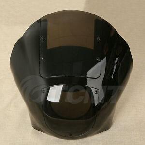 Smoked Quarter Headlight Fairing Windshield For Harley Sportster 883 1200 88-UP