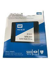 "NEW - Western Digital Blue 500GB Internal SSD 2.5"" WD Blue Solid State Drive"