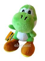 "Nintendo Super Mario Brothers Bros 6"" Green Yoshi Stuffed Toy Soft Plush Doll"