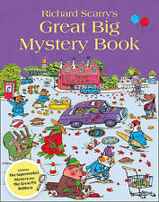 Richard Scarry's Great Big Mystery Book by Richard Scarry (Paperback, 2011)