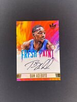 2017-18 Panini Court Kings BAM ADEBAYO Fresh Paint /200 Level II Auto SP Rookie