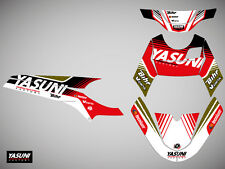 Kit deco KUTVEK Yasuni Factory rouge/noir MBK Nitro / Yamaha Aerox 50 1997-2012